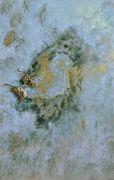 Plénitude, 91cm x 61cm, technique mixte, éclat de bronze sur toile, 2013